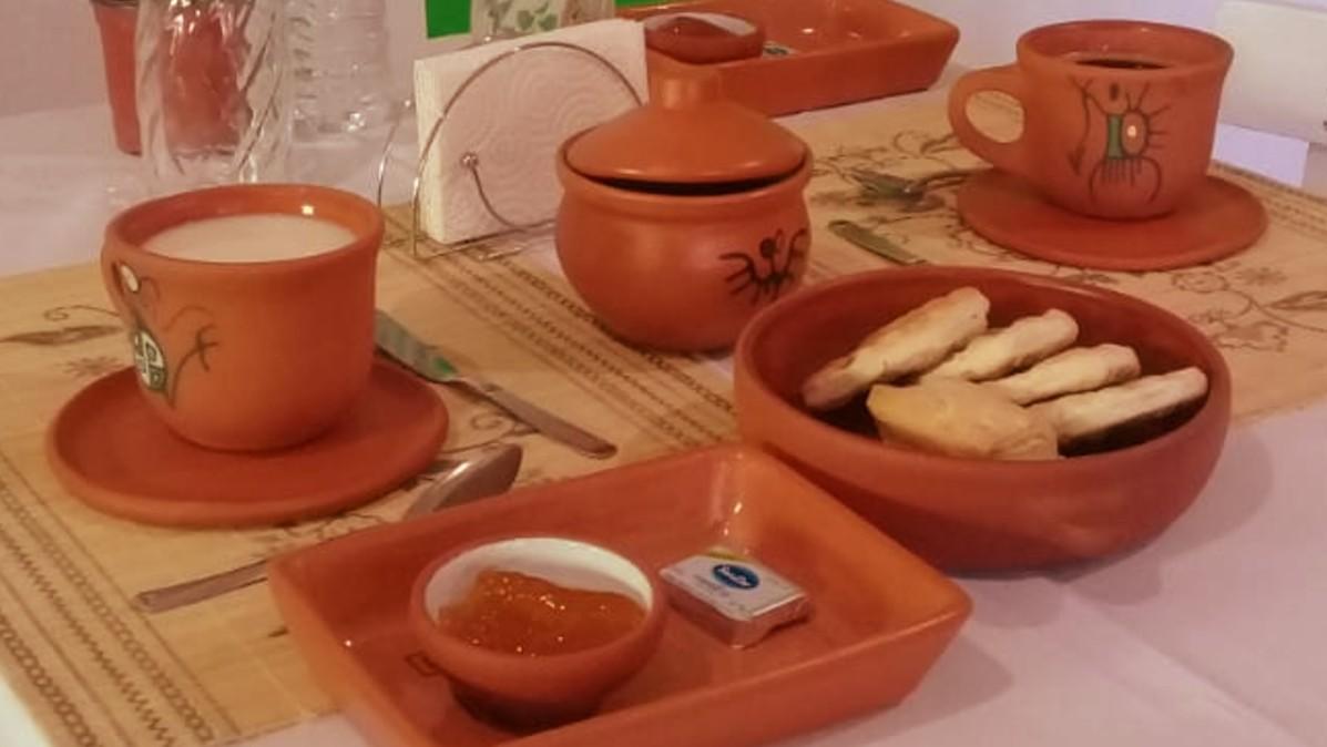 desayuno en hostal bella esperana